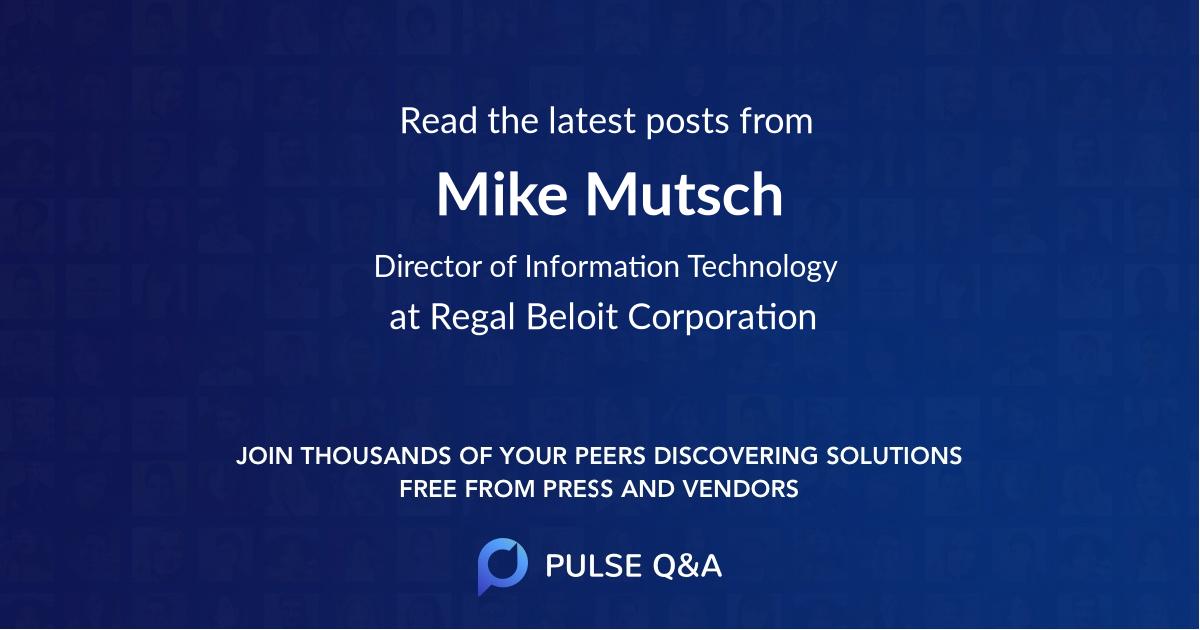 Mike Mutsch