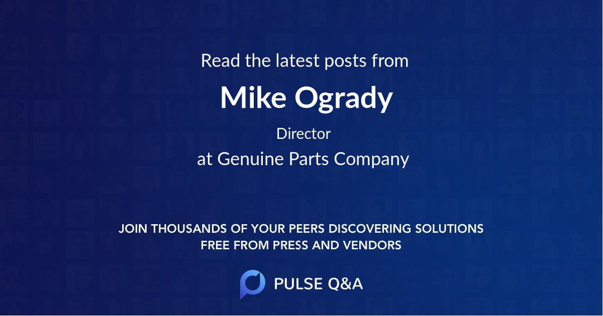 Mike Ogrady