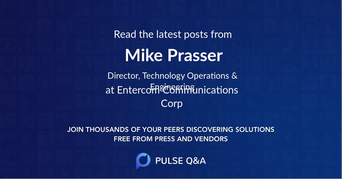 Mike Prasser