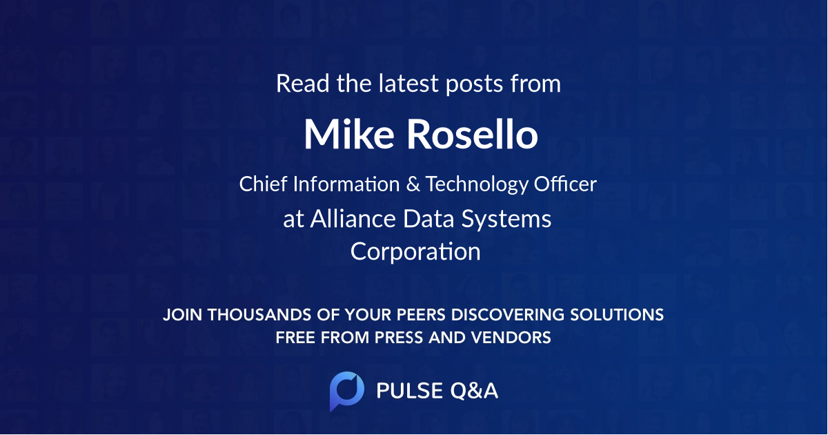 Mike Rosello