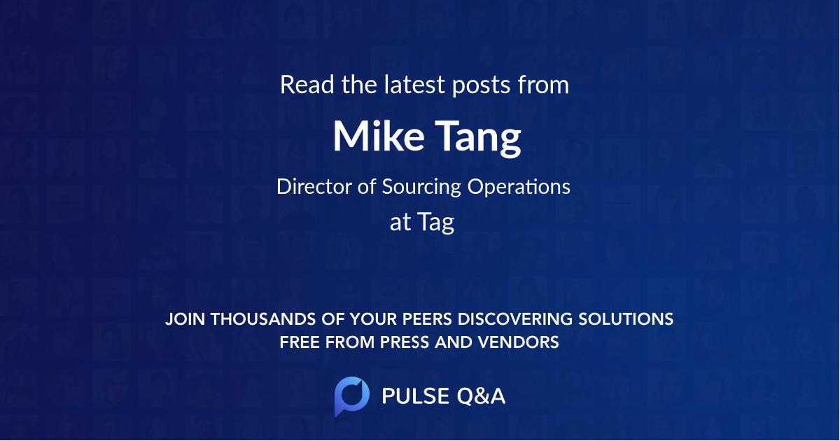 Mike Tang