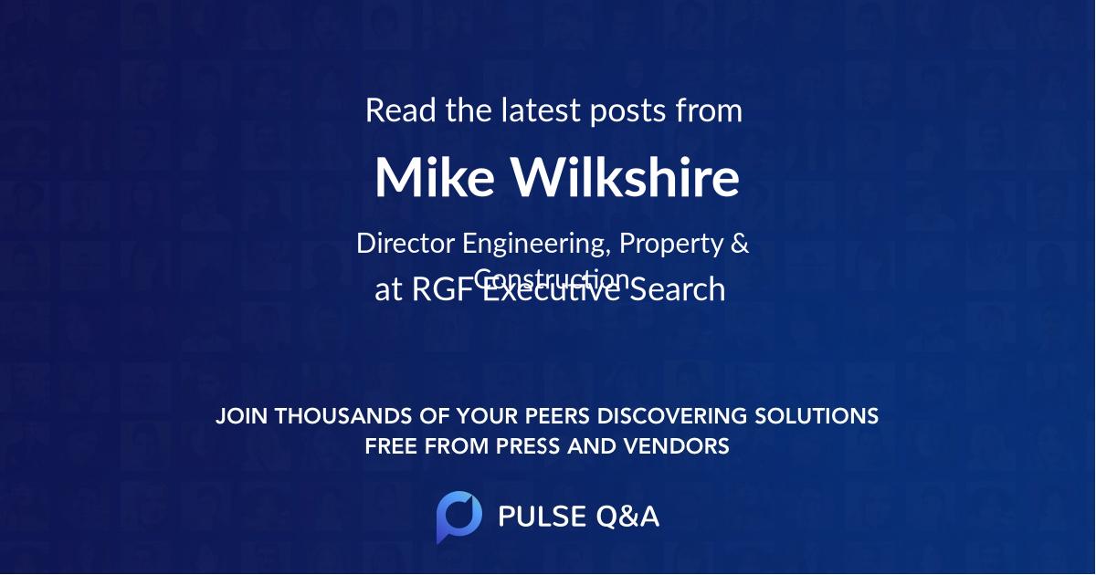 Mike Wilkshire