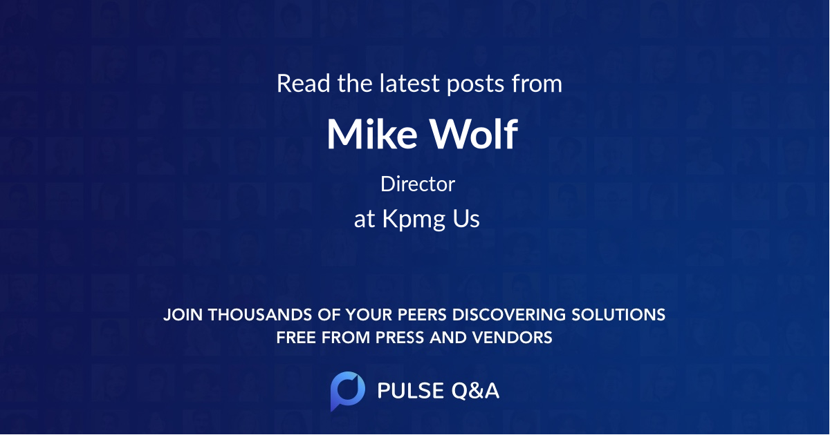 Mike Wolf
