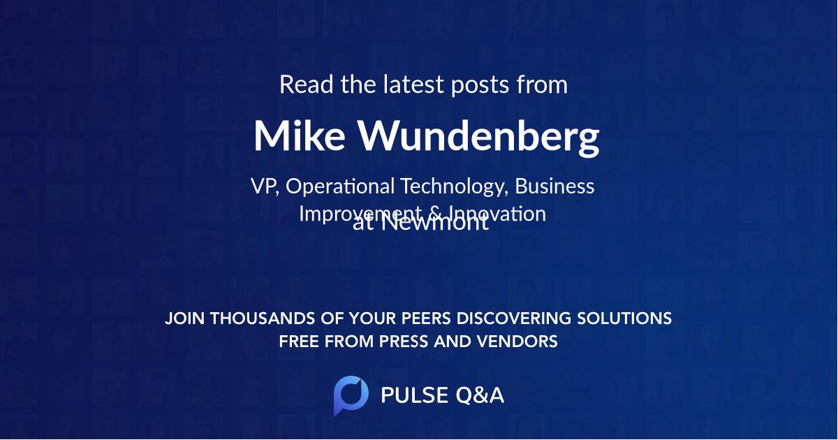 Mike Wundenberg