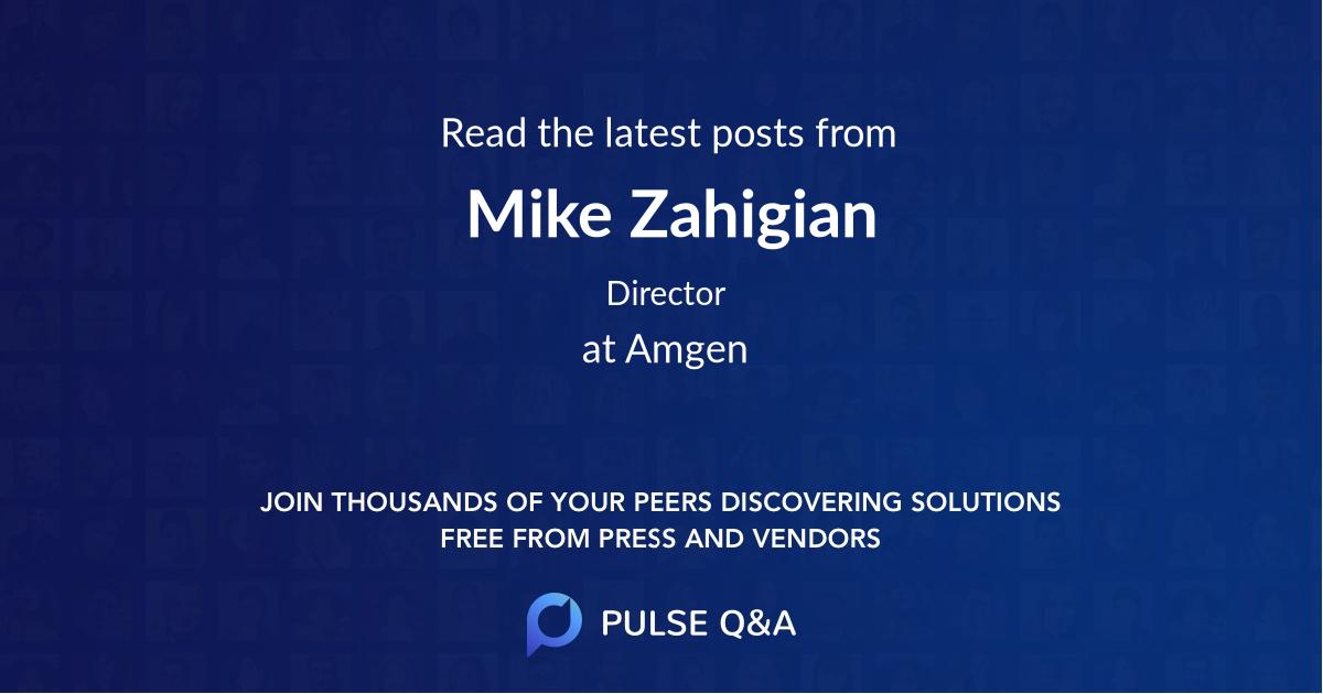 Mike Zahigian