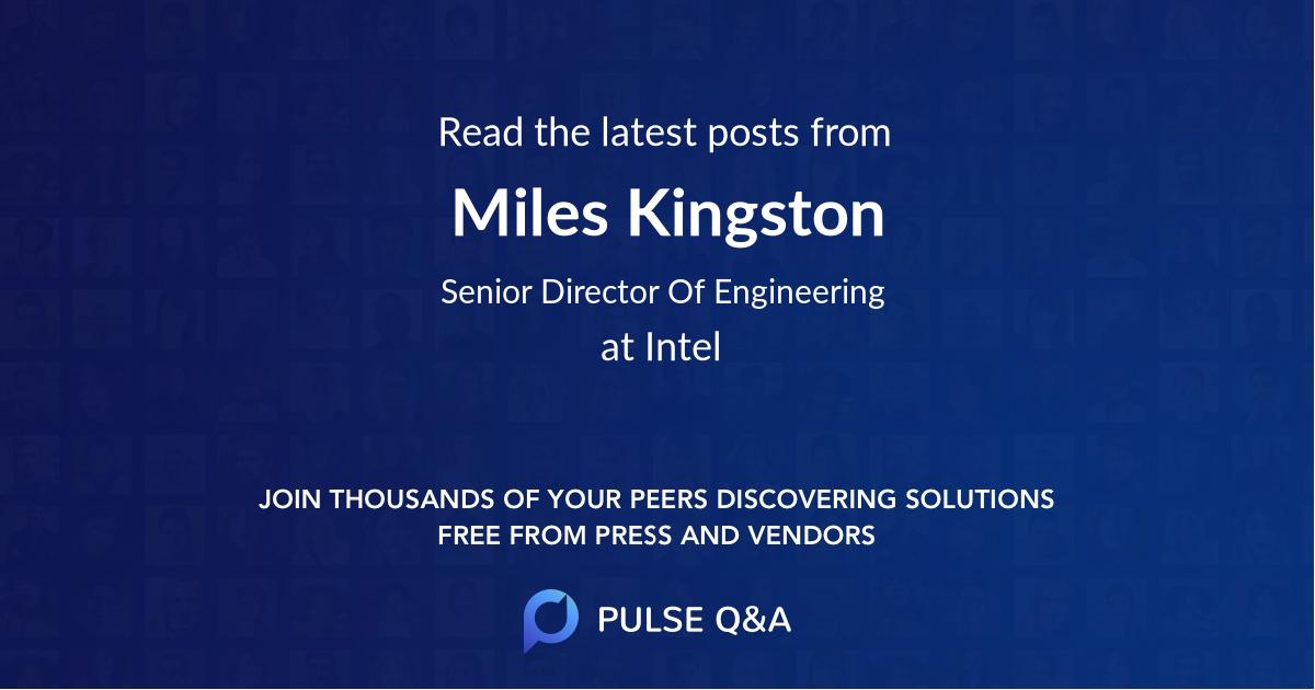 Miles Kingston