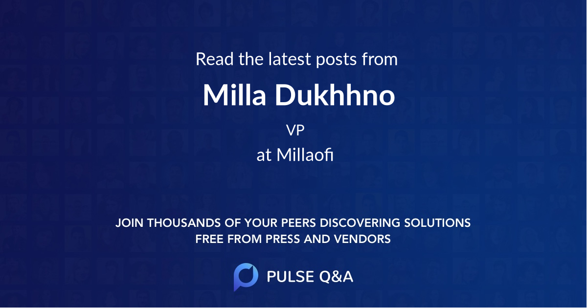 Milla Dukhhno