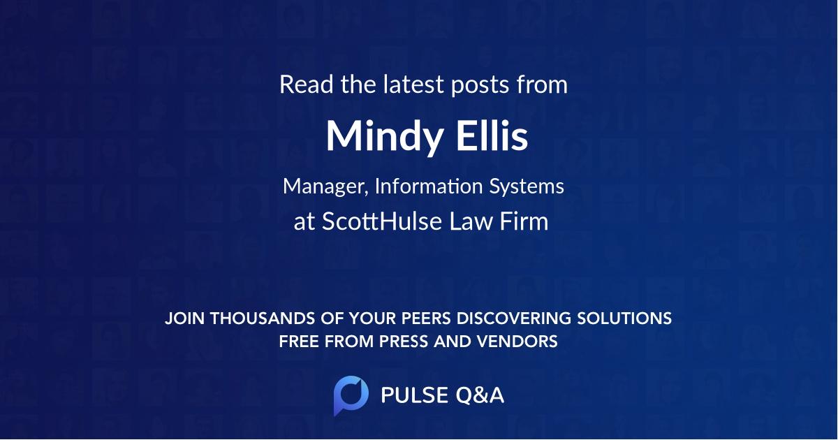 Mindy Ellis