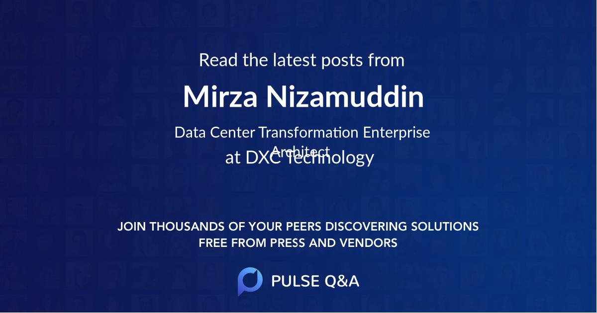 Mirza Nizamuddin