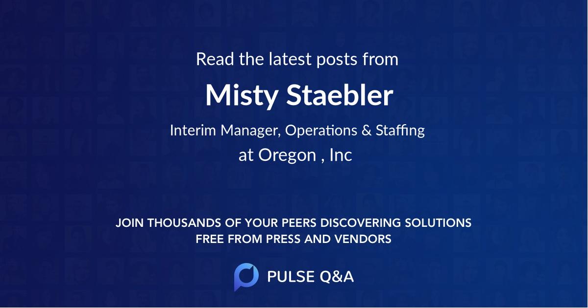 Misty Staebler