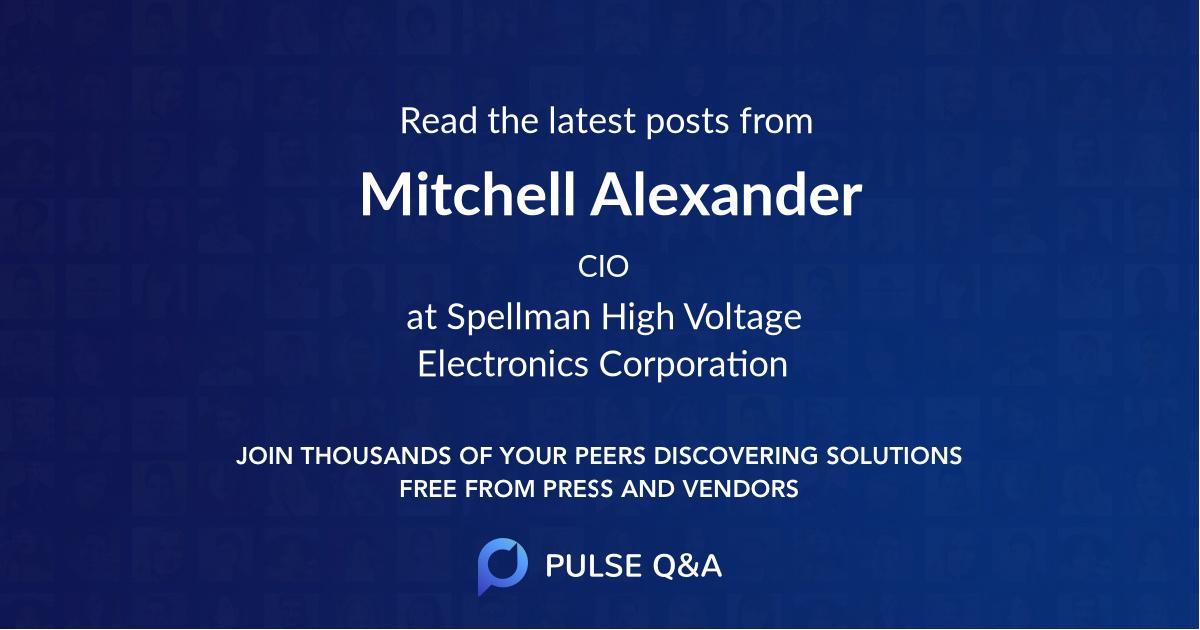Mitchell Alexander