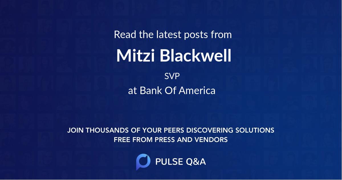 Mitzi Blackwell