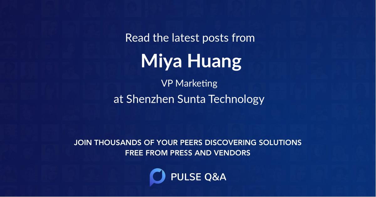 Miya Huang