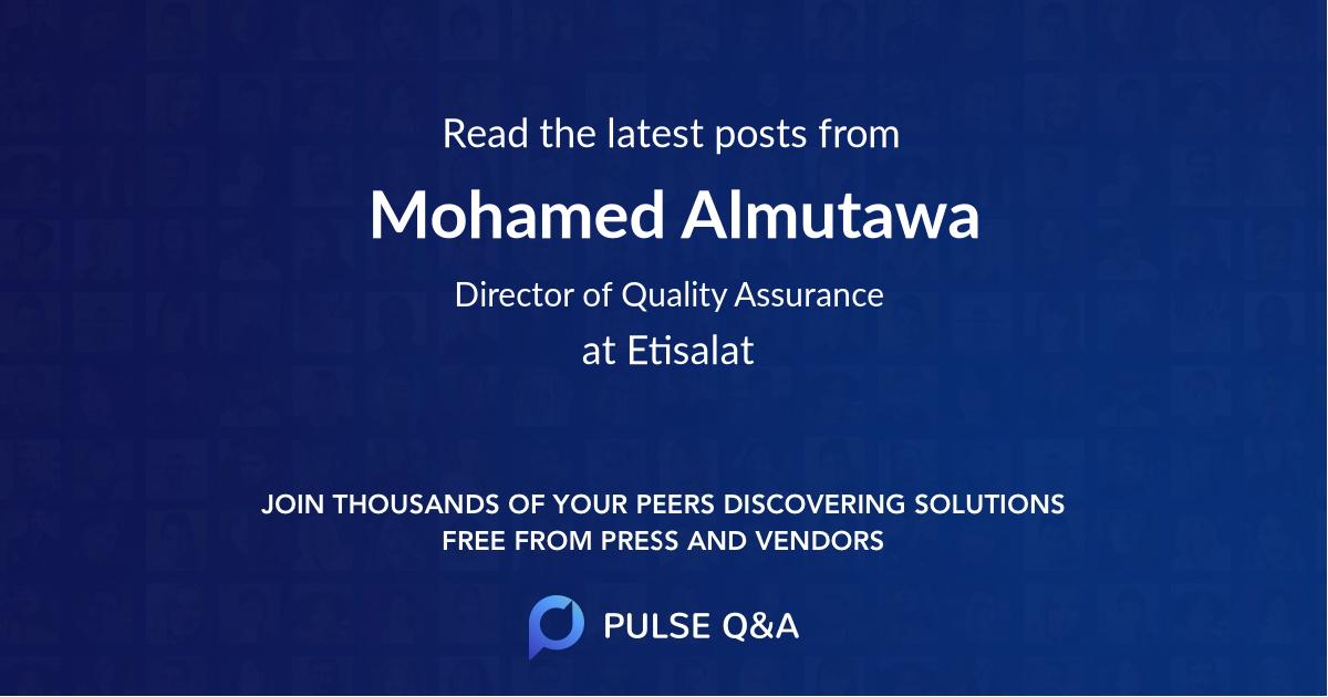 Mohamed Almutawa