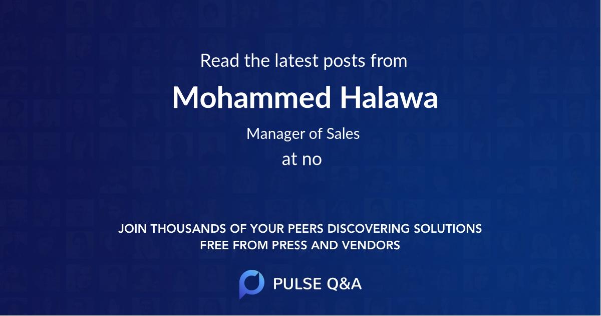Mohammed Halawa