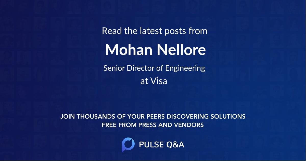 Mohan Nellore
