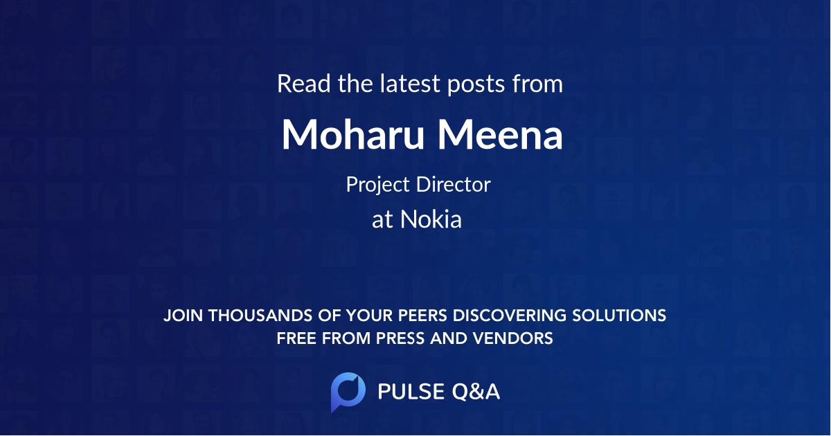 Moharu Meena