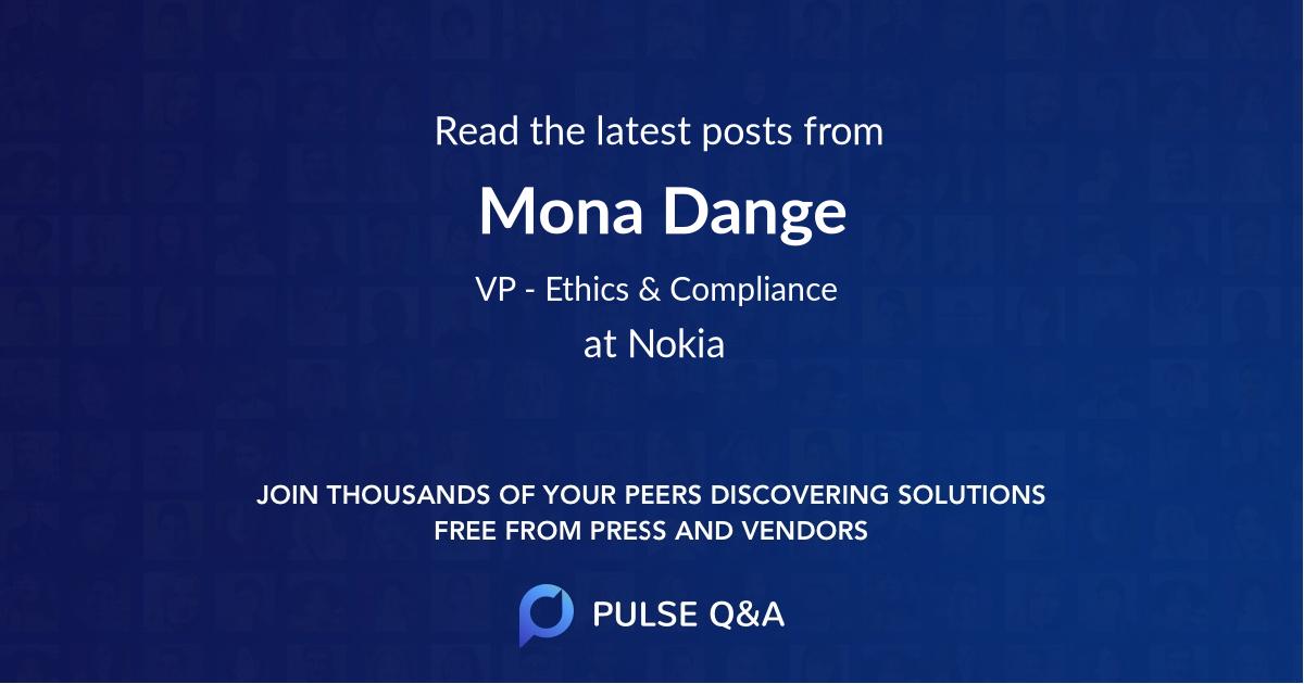 Mona Dange