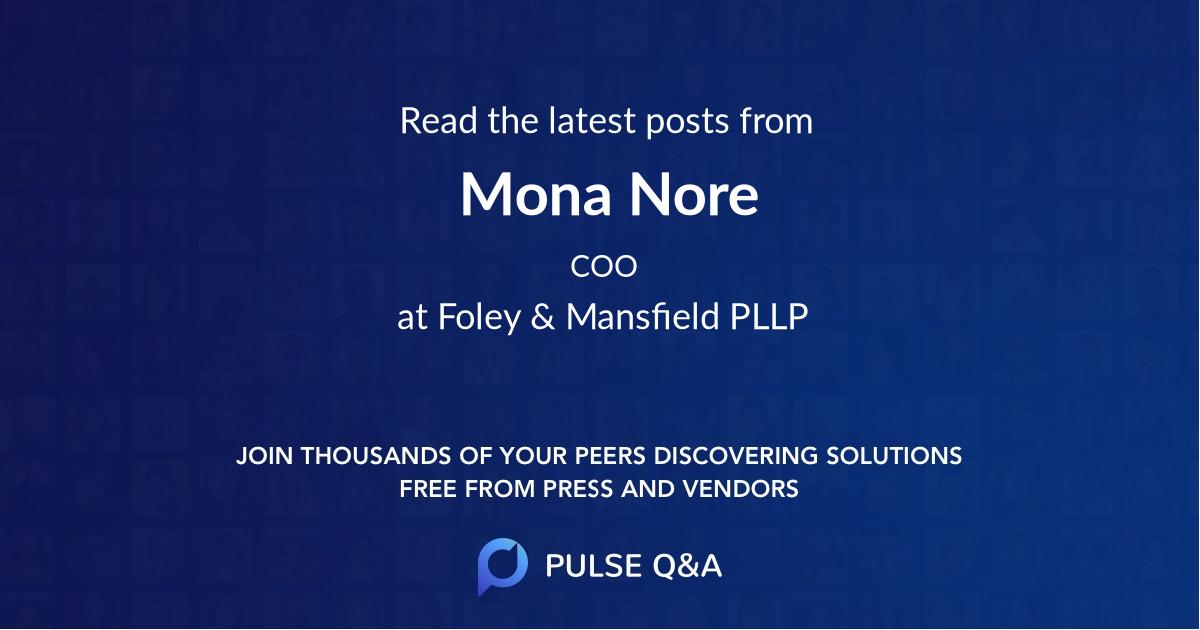 Mona Nore