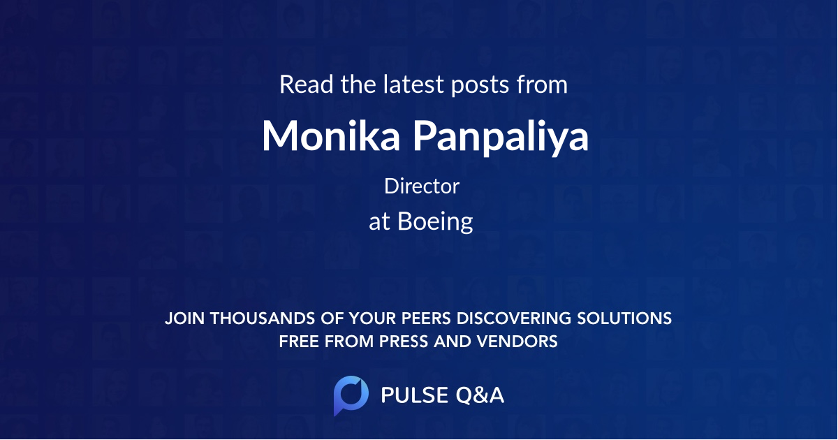 Monika Panpaliya