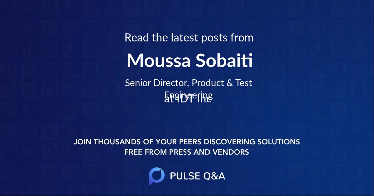Moussa Sobaiti