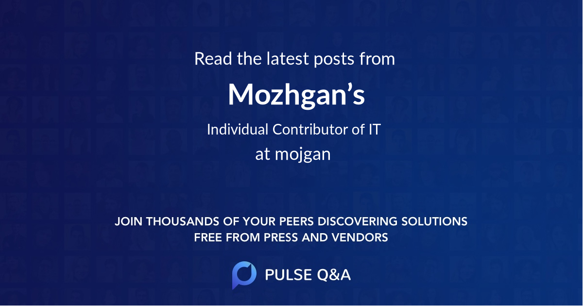 Mozhgan's