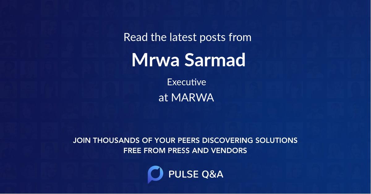 Mrwa Sarmad