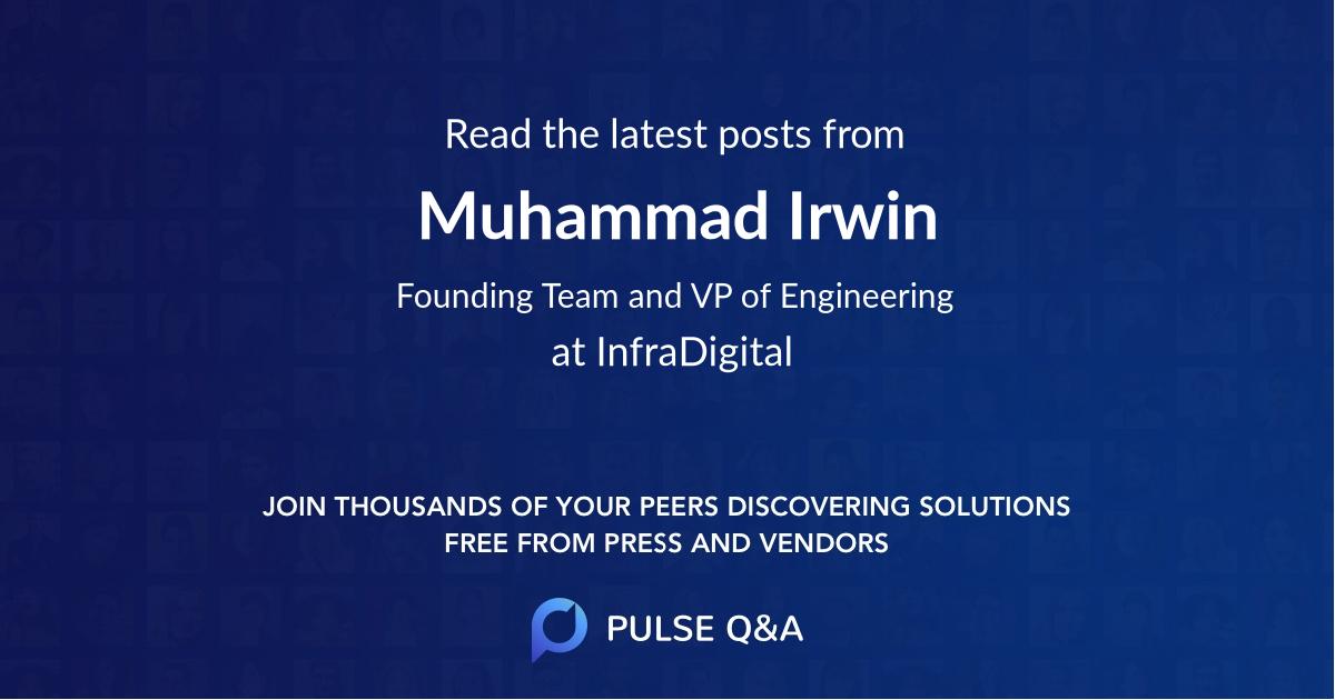 Muhammad Irwin
