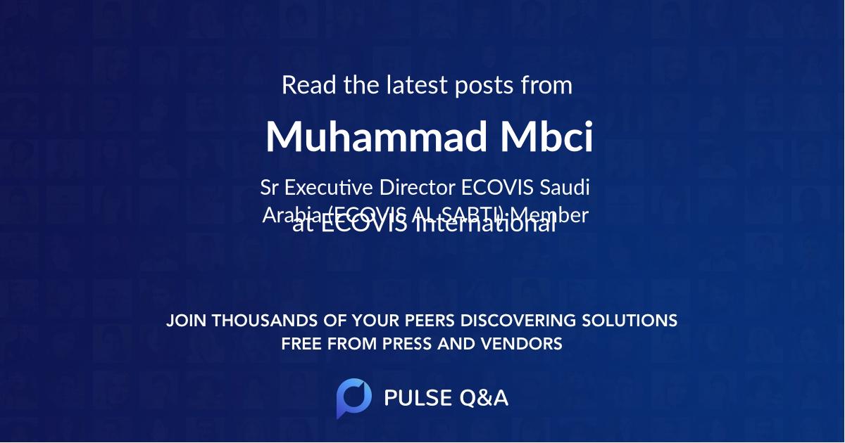 Muhammad Mbci
