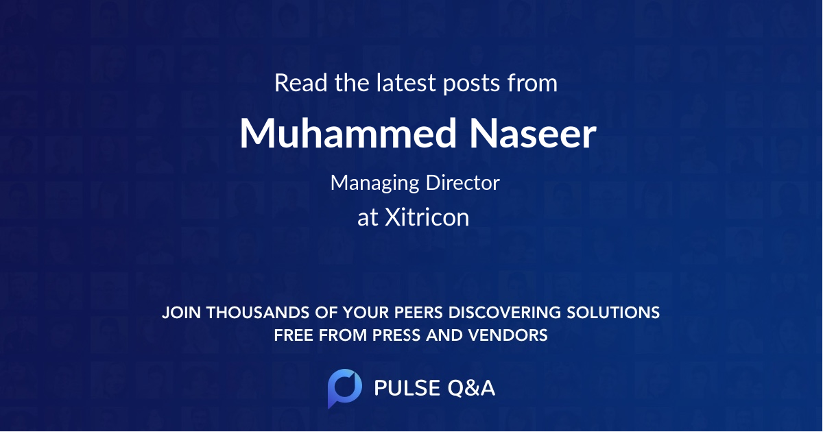 Muhammed Naseer
