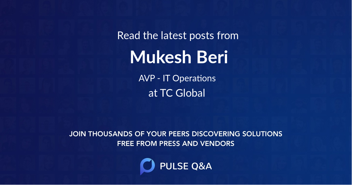 Mukesh Beri