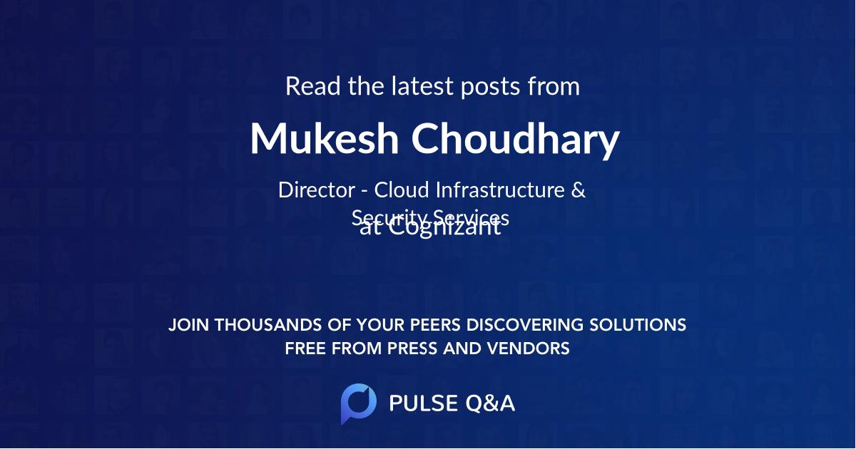 Mukesh Choudhary