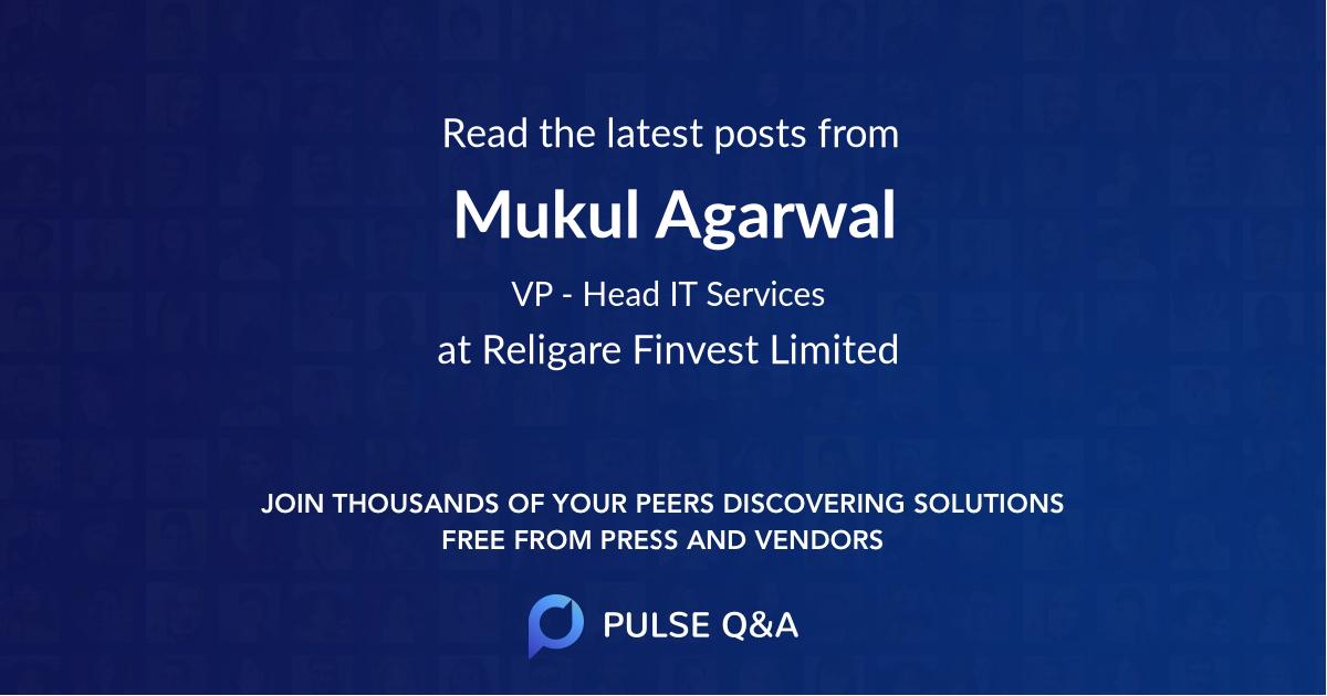 Mukul Agarwal