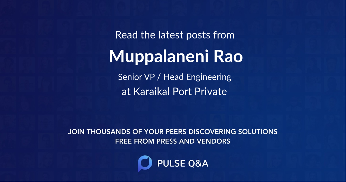 Muppalaneni Rao