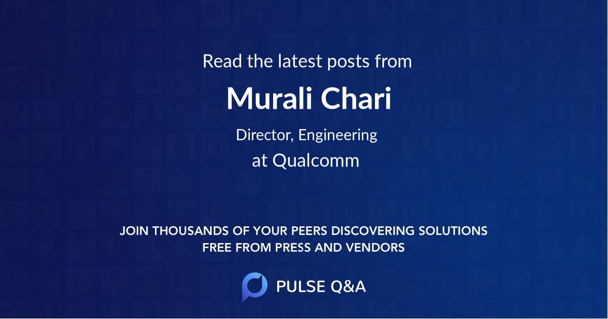 Murali Chari