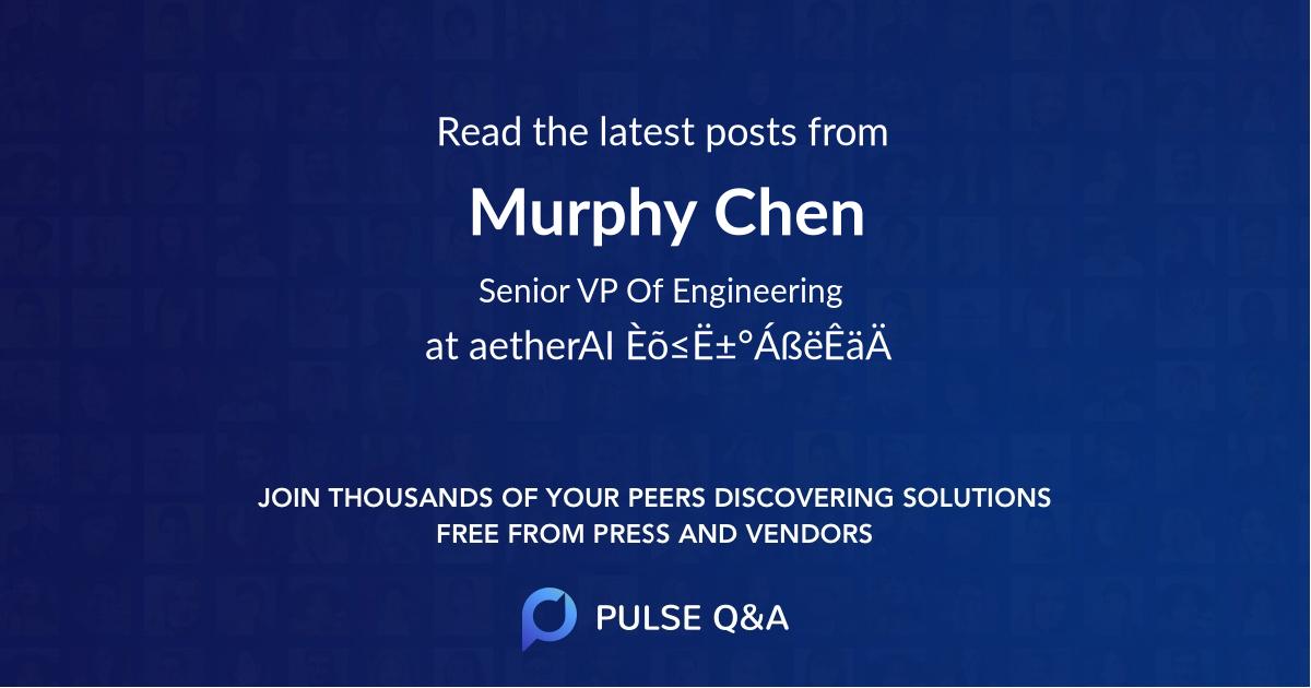 Murphy Chen