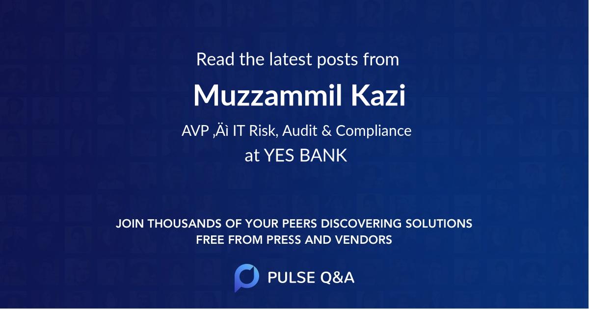 Muzzammil Kazi