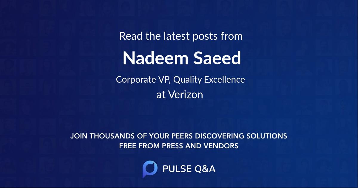 Nadeem Saeed