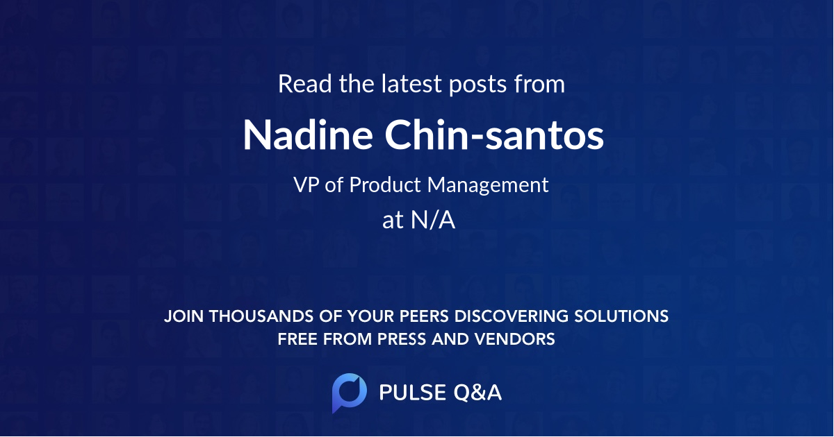 Nadine Chin-santos