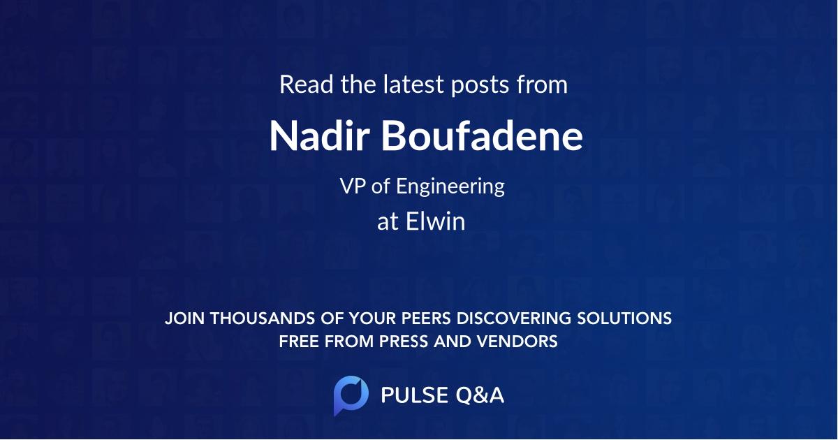 Nadir Boufadene