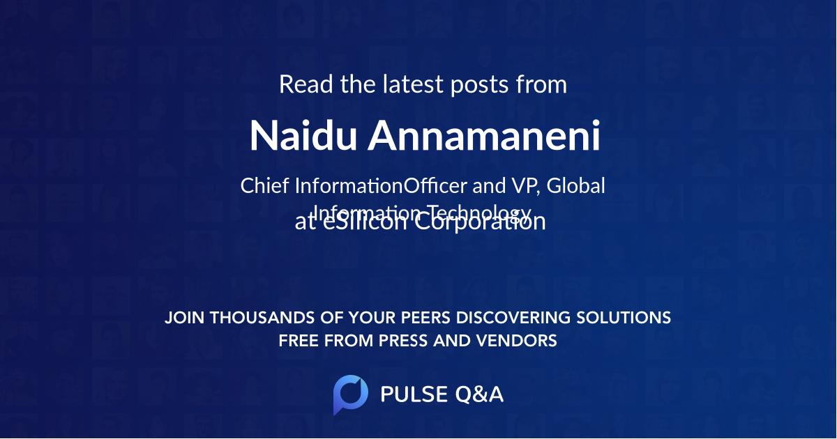 Naidu Annamaneni