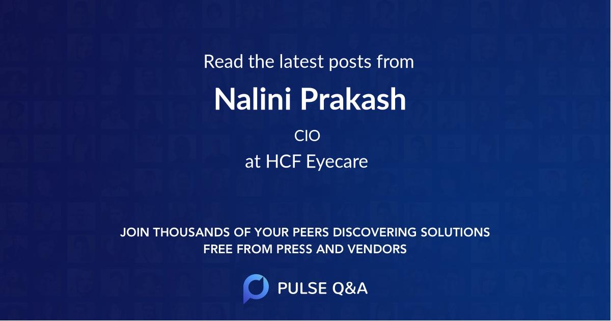 Nalini Prakash
