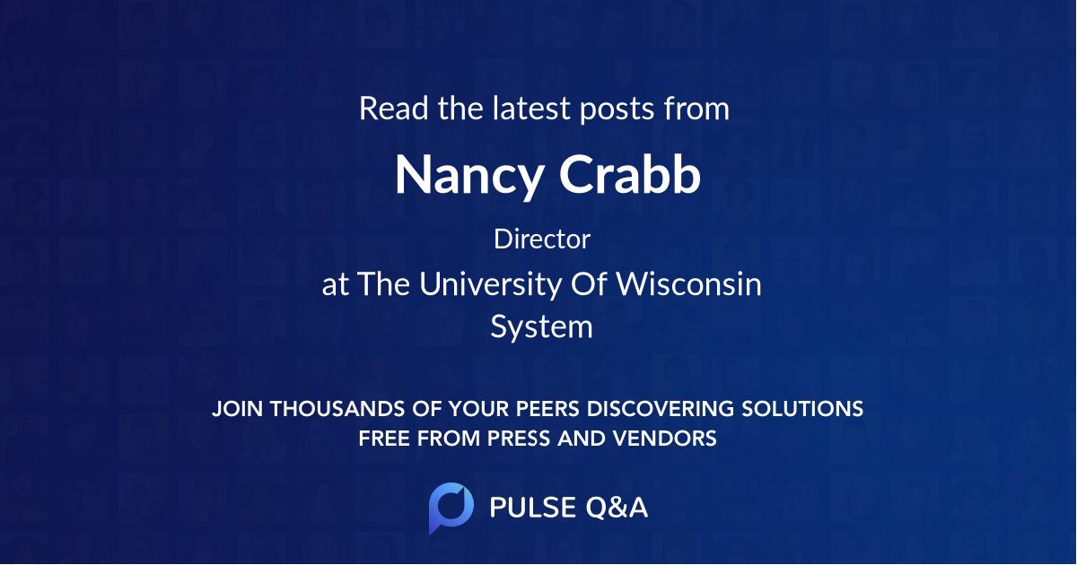Nancy Crabb