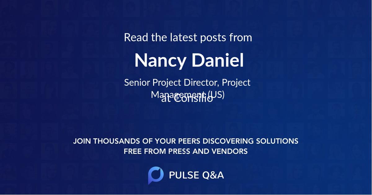 Nancy Daniel