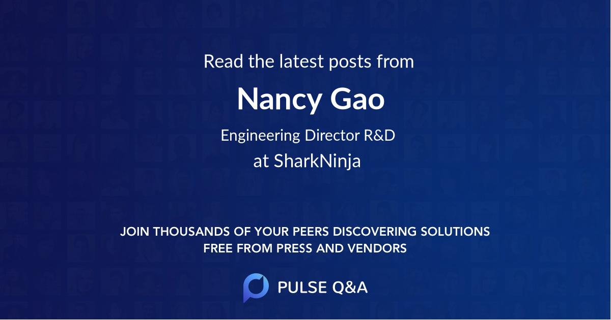 Nancy Gao