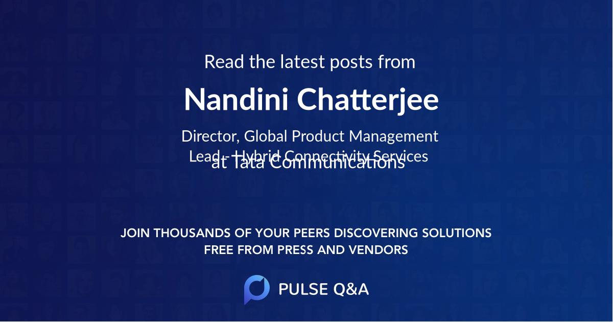 Nandini Chatterjee