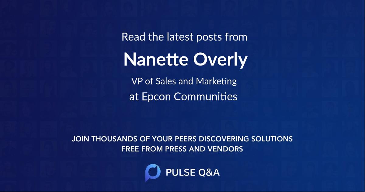 Nanette Overly