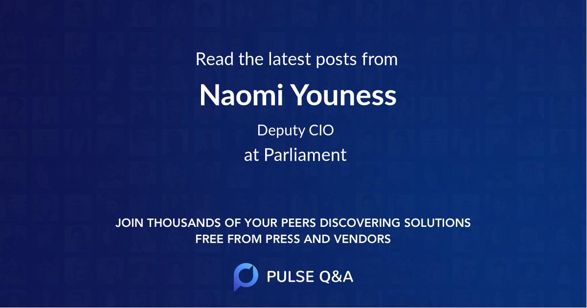 Naomi Youness