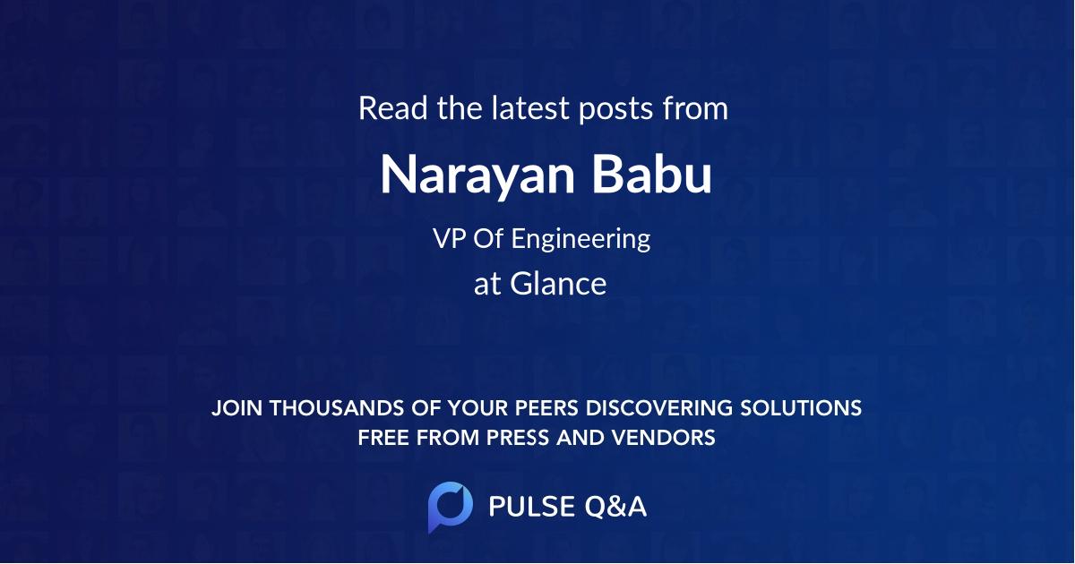 Narayan Babu