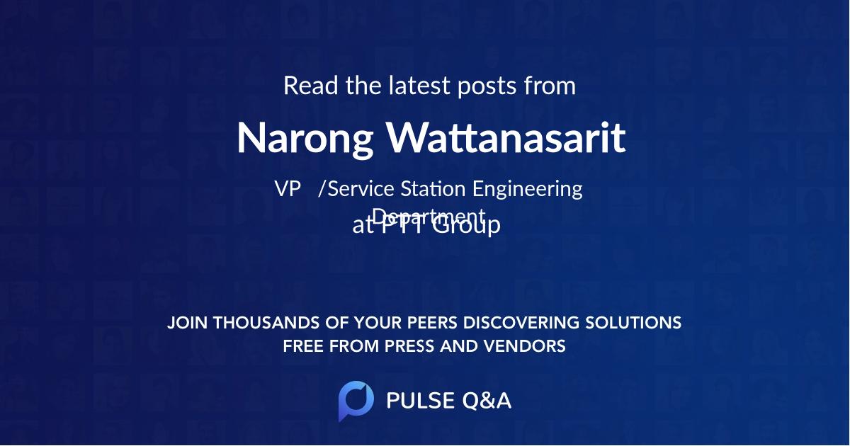Narong Wattanasarit